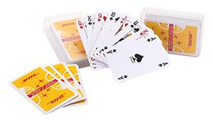 Kaartspel in kunststof doosje